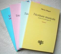 l'écriture musicale - Olivier Miquel