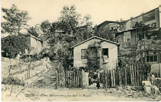 Le maquis -  Montmartre