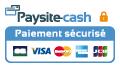 Support paiement carte bancaire Paysite-cash